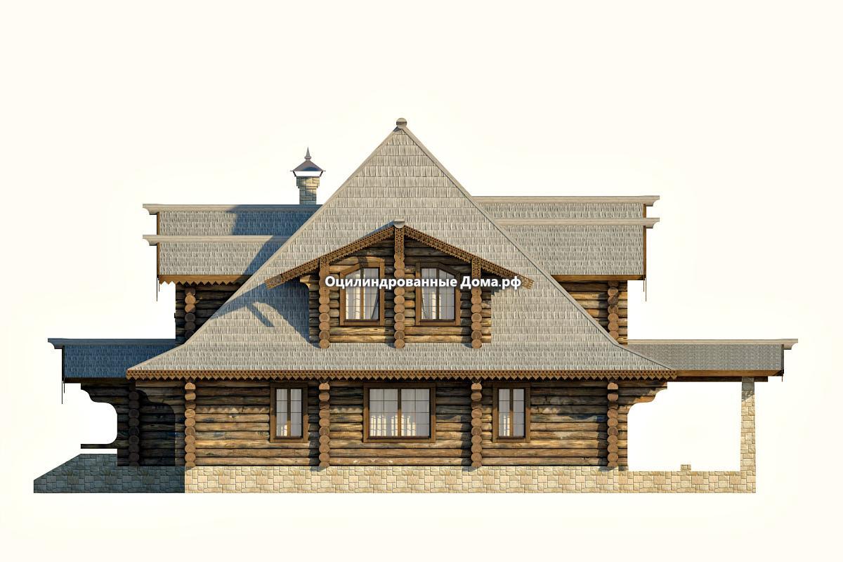 Дома из бревна в древнерусских традициях