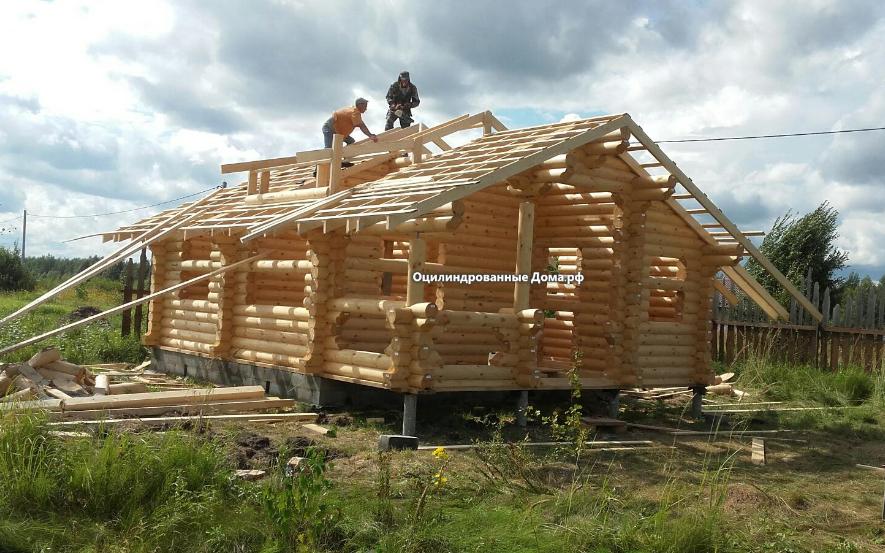 Оцилиндровка проект дома