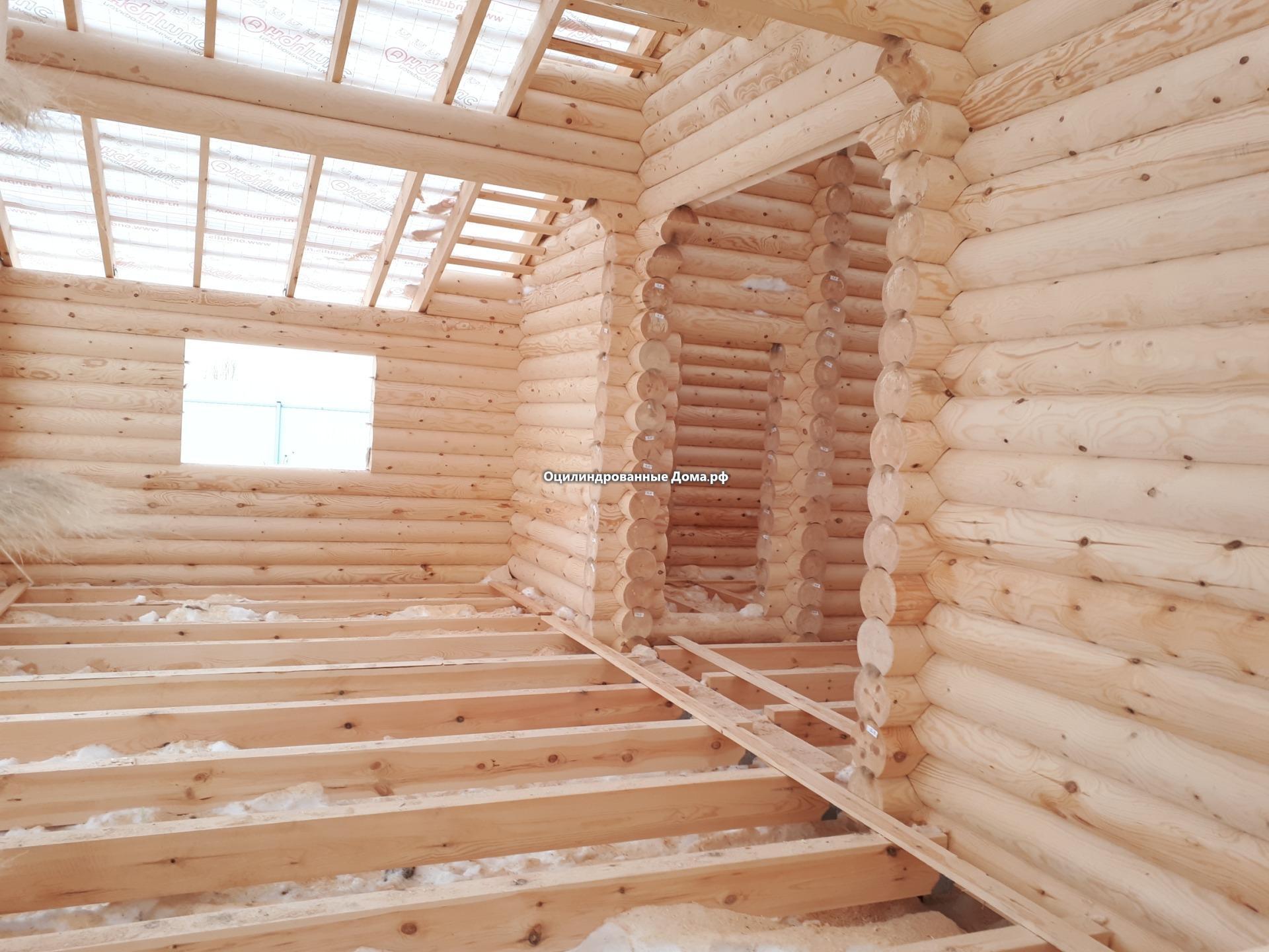 дом ансель из бревна