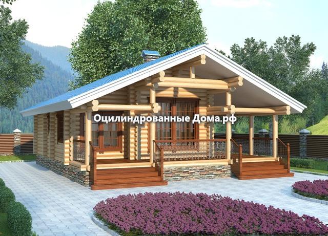 Дом из бревна Алтай